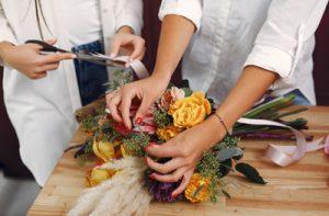 Les métiers de la fleuristerie